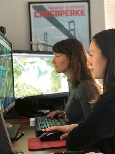 GIS staff at Chesapeake Conservancy
