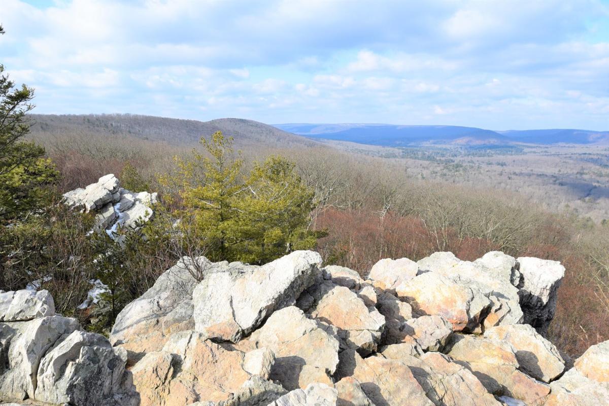 Pole Steeple rock formation