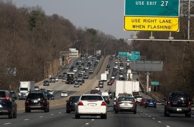 DC Beltway traffic