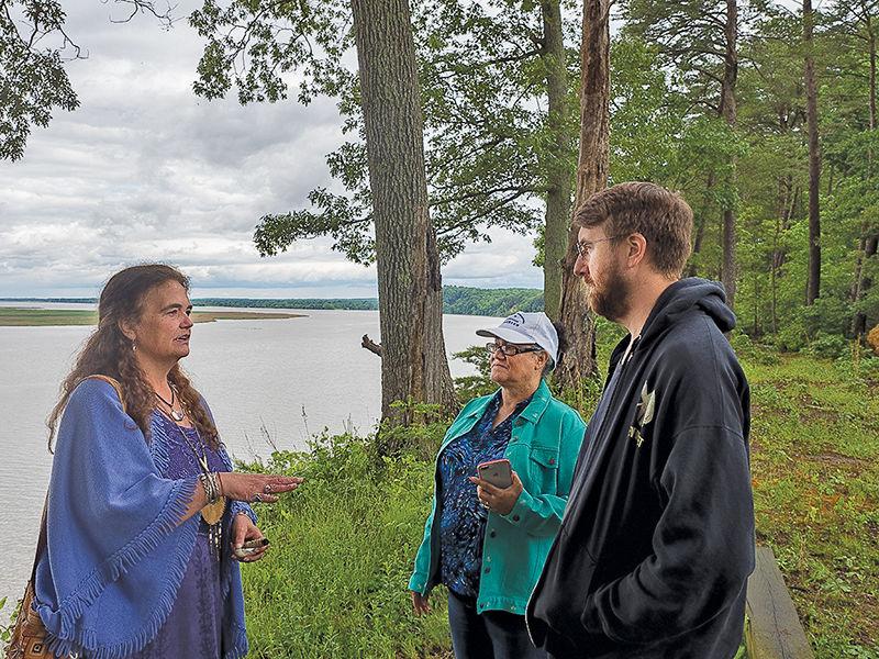 American Indian heritage at Fones Cliffs (VA)