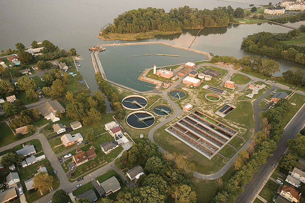 Cambridge, MD, wastewater treatment plant