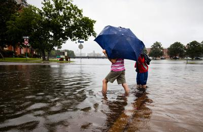 Sea level rise in Norfolk, Va.