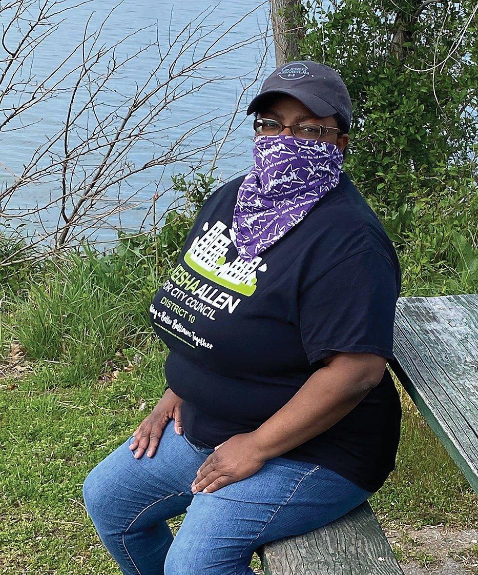Keisha Allen, community activist