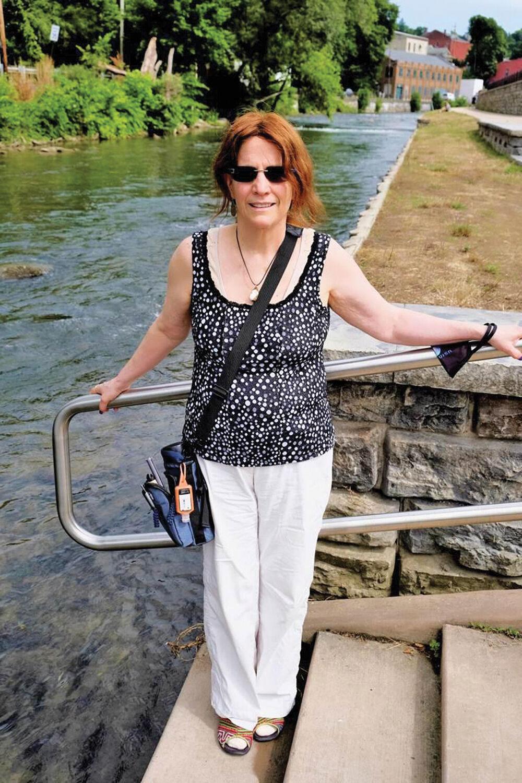 Joanne Tosti-Vasey, Waterfront Development Park, Bellefonte, PA