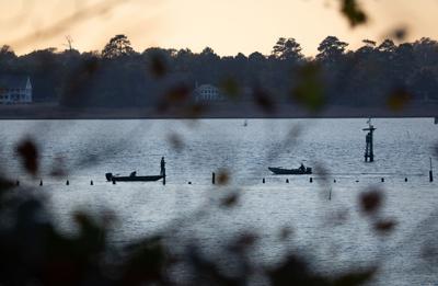 Watermen on the Nansemond River, VA