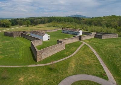 Fort Frederick, MD, aerial