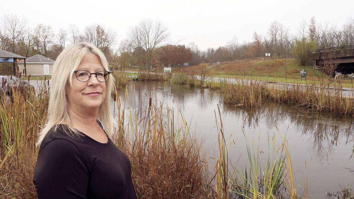 Choptank River bioretention pond
