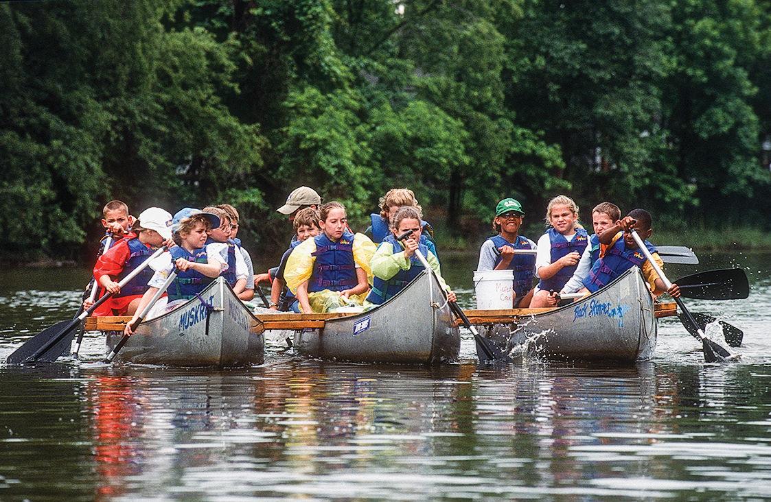 CBF canoe field trip
