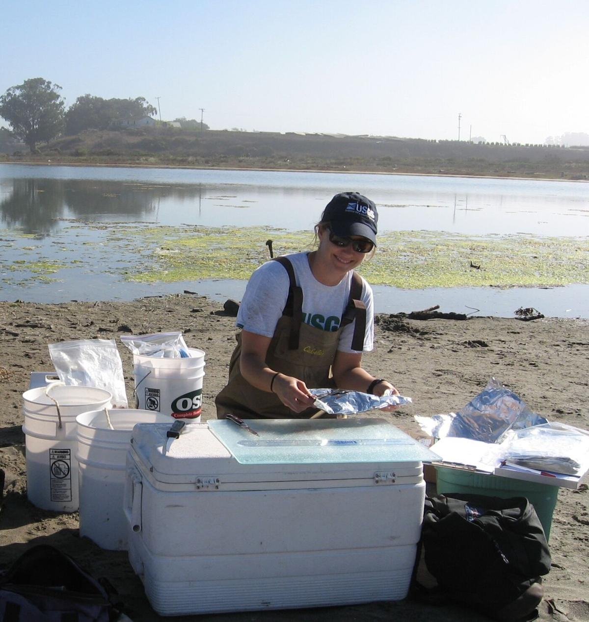 Kelly Smalling USGS scientist