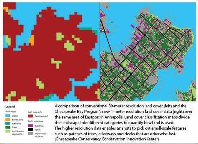 Annapolis land cover comparison
