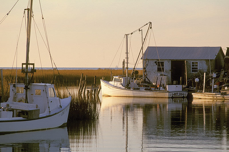 Smith Island, MD, workboats