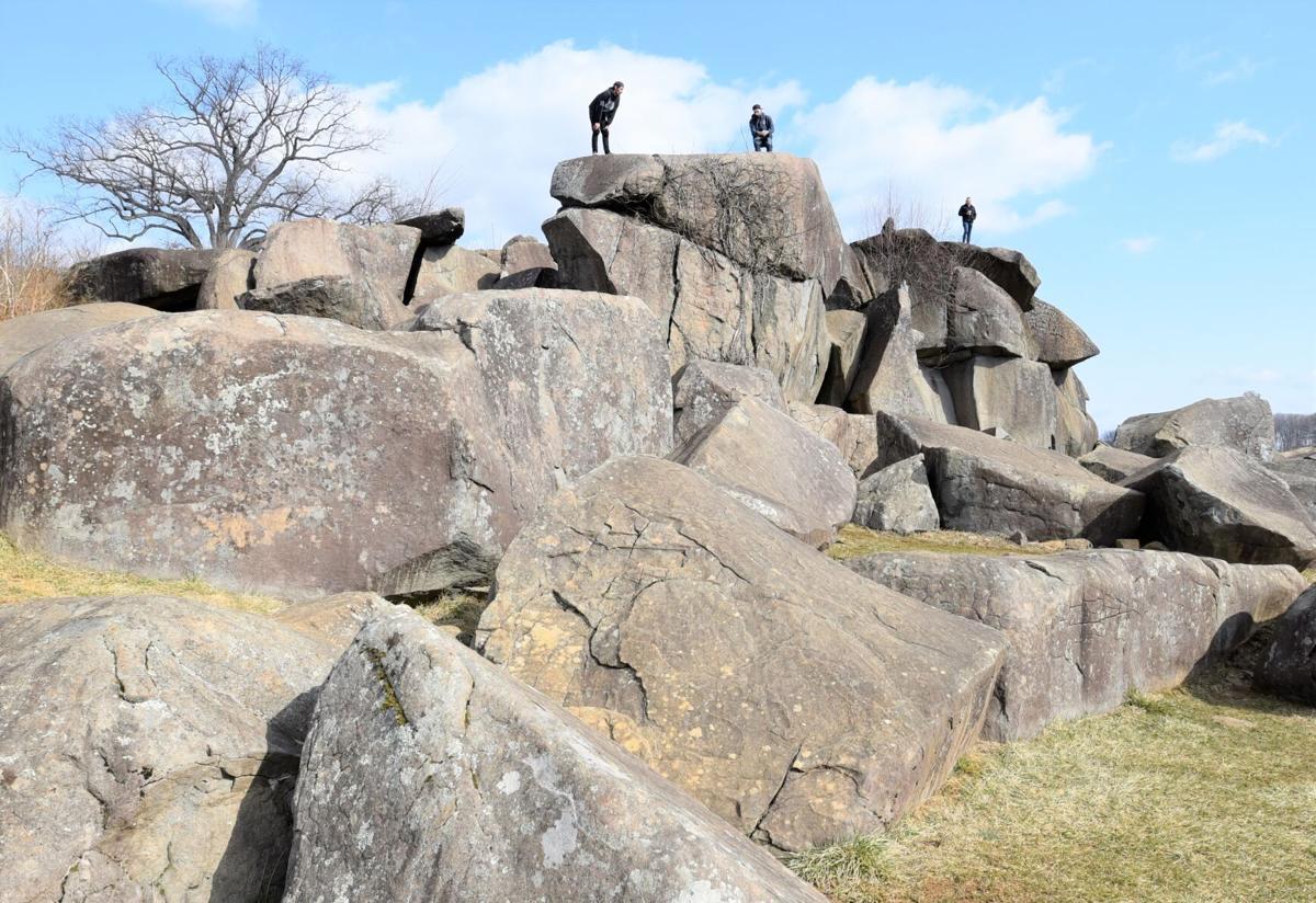 Devil's Den rock formation