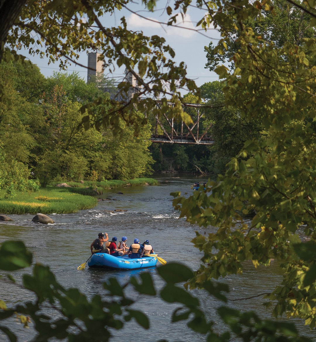 Rafting on the James River