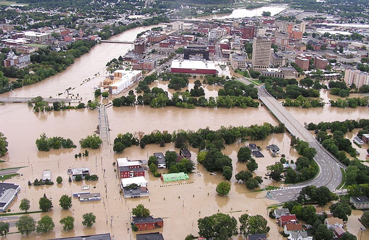 Susquehanna flooding at Binghamton, NY