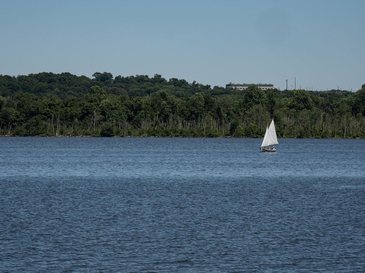 Sailboat on the Potomac River