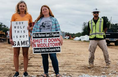 Mariner East 2 Pipeline protestors