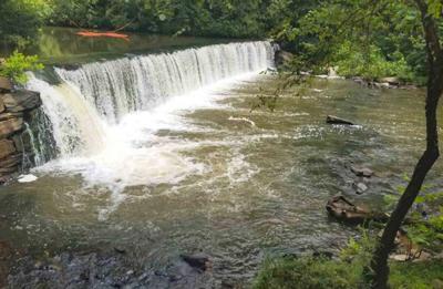 Jefferson Mill dam, VA