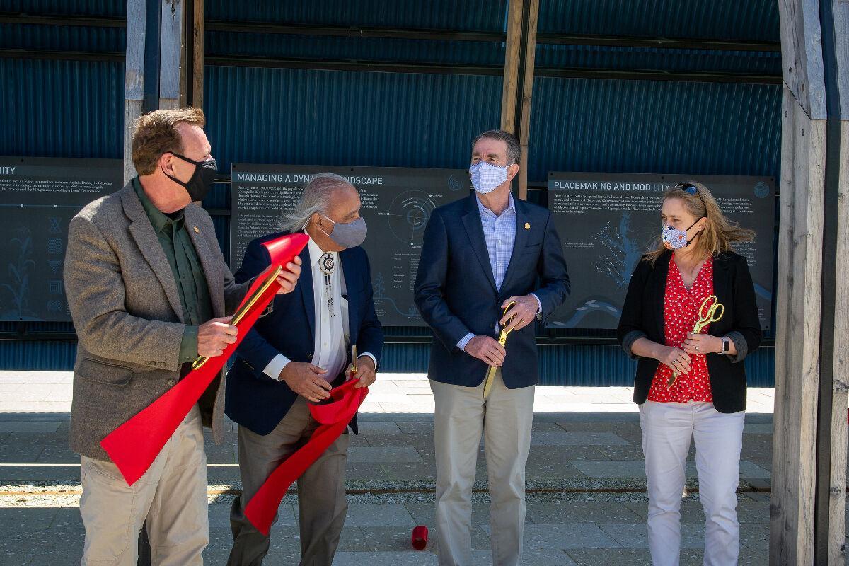 Governor Northam at Machicomoco opening