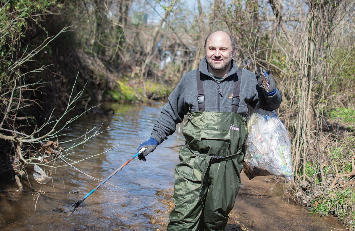 Clean Bread and Cheese stream cleanup