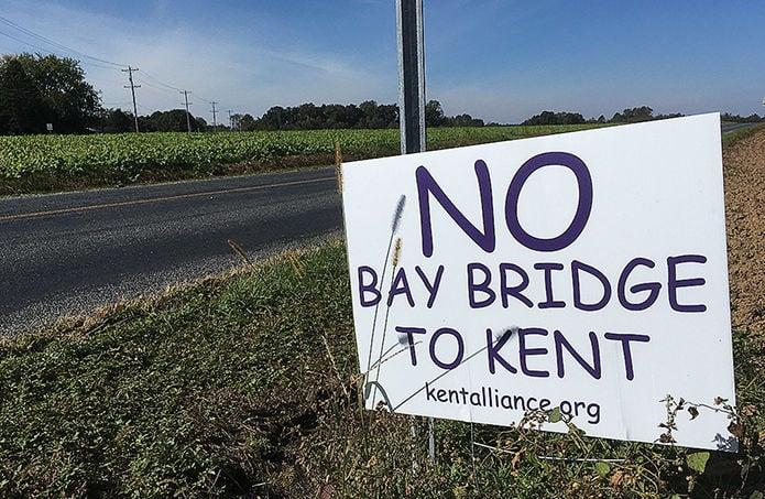 Bay Bridge protest sign