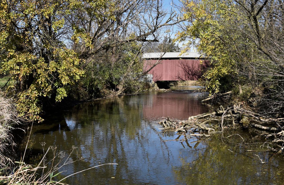 Covered bridge on Little Conestoga Creek, PA