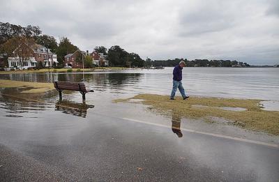 Street flooding in Norfolk 2