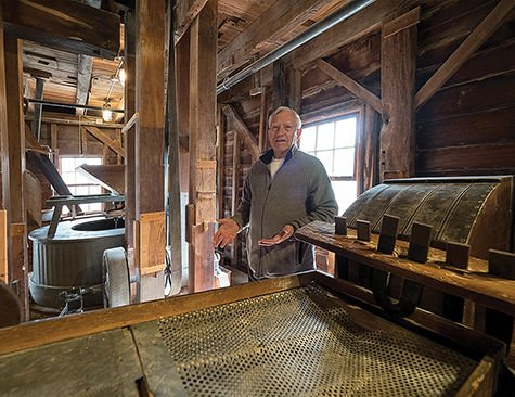 Old Wye Grist Mill still grinding after all these years