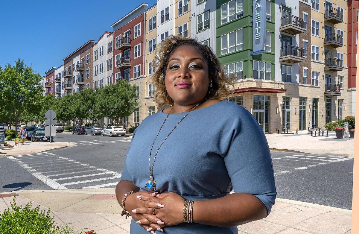 Delegate Wanika Fisher in Hyattsville