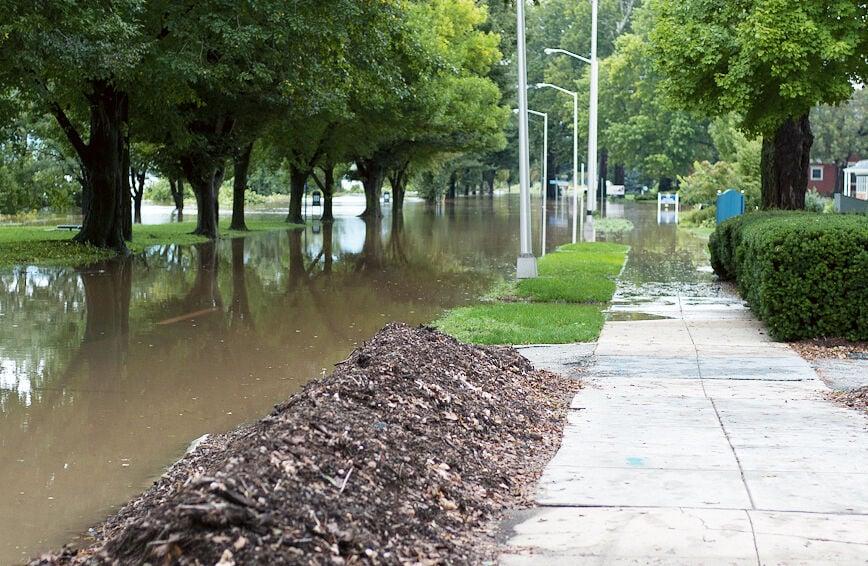 Flooding in Harrisburg