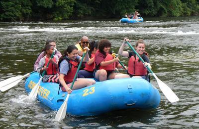 Rafting at RiverPalooza