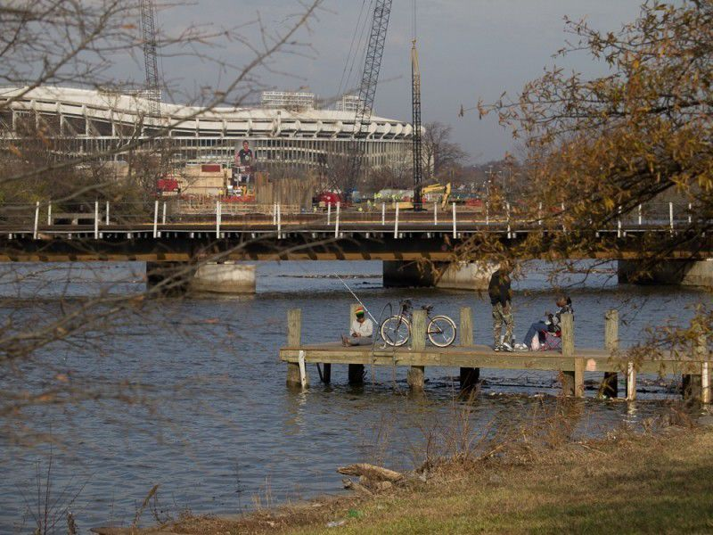 Anglers on the Anacostia River 2