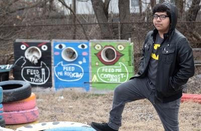 Carlos Sanchez-Gonzalez at a neighborhood park