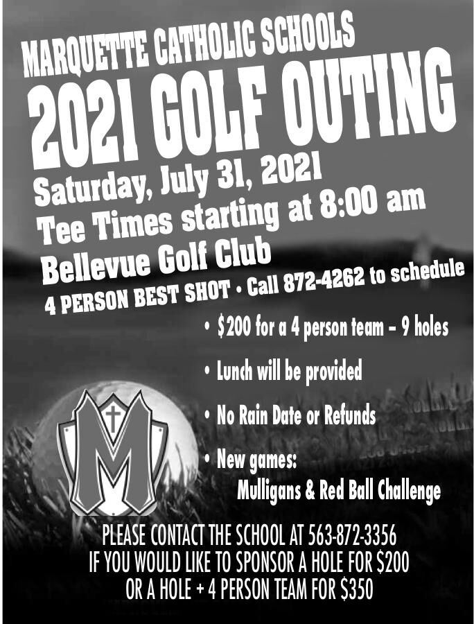Marquette Catholic Schools 2021 Golf Outing