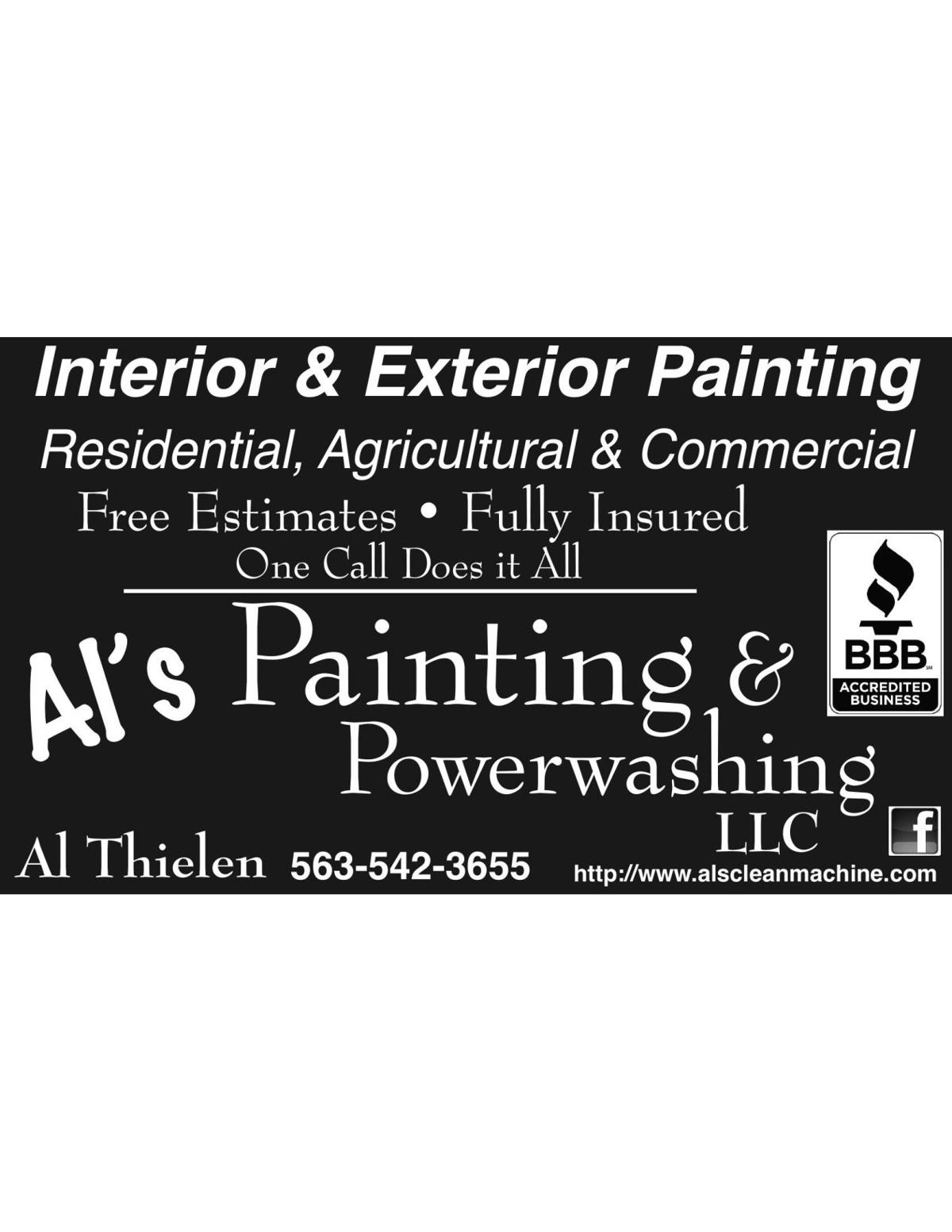 Al's Painting & Powerwashing LLC