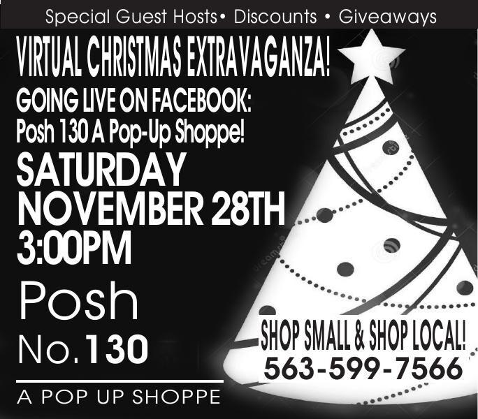 Posh No. 130 Virtual Christmas Extravaganza