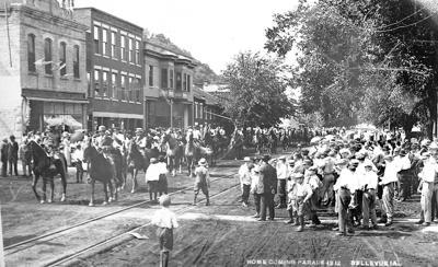 Homecoming Parade 1912