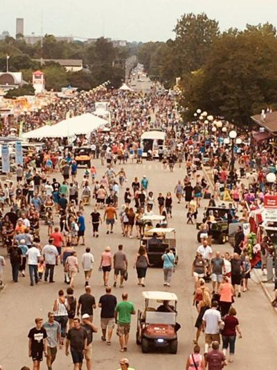 The Grand Concourse at the Iowa State Fair