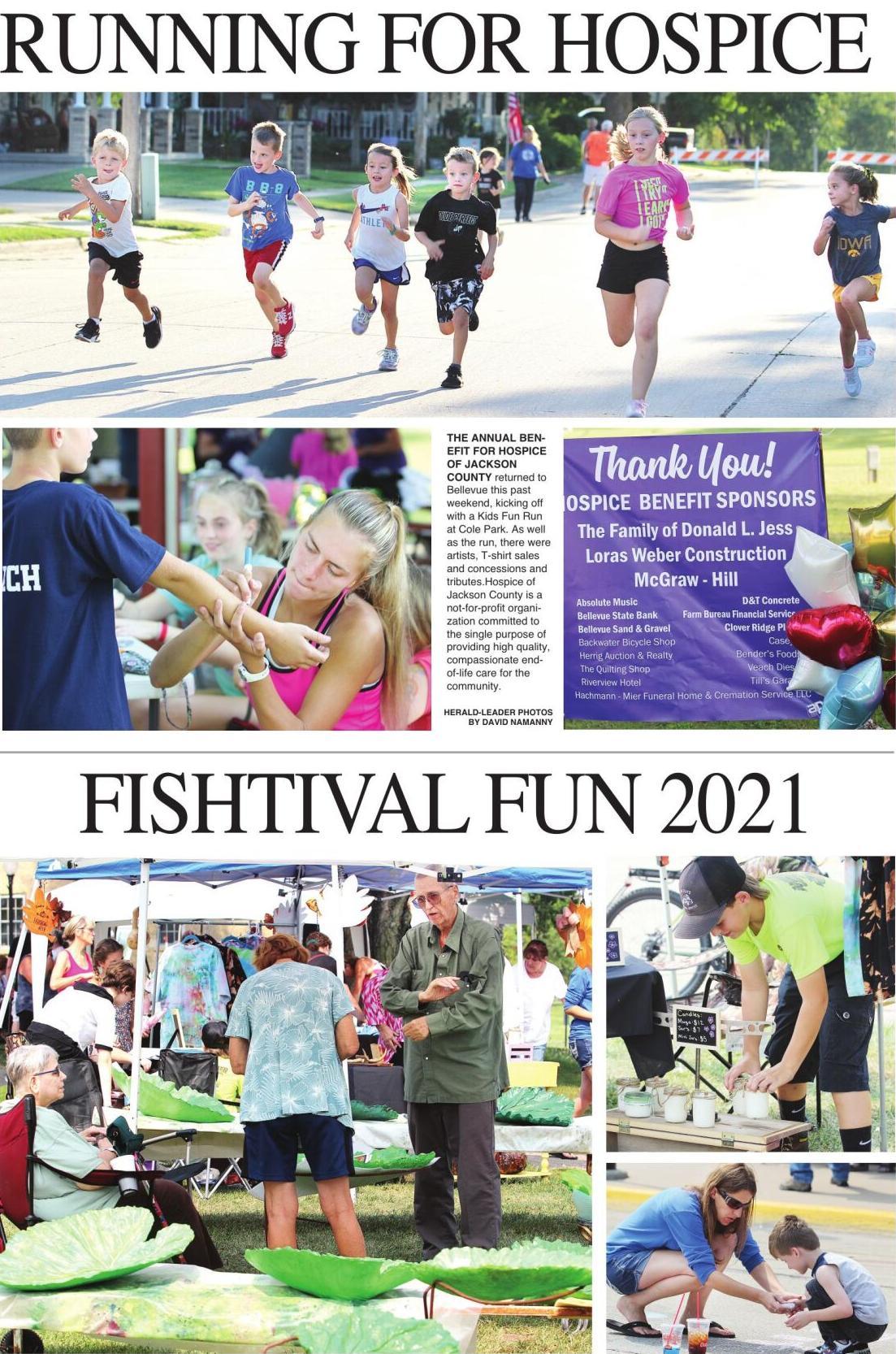 RUNNING FOR HOSPICE & FISHTIVAL FUN 2021