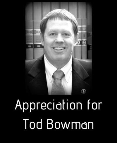 Appreciation Bowman