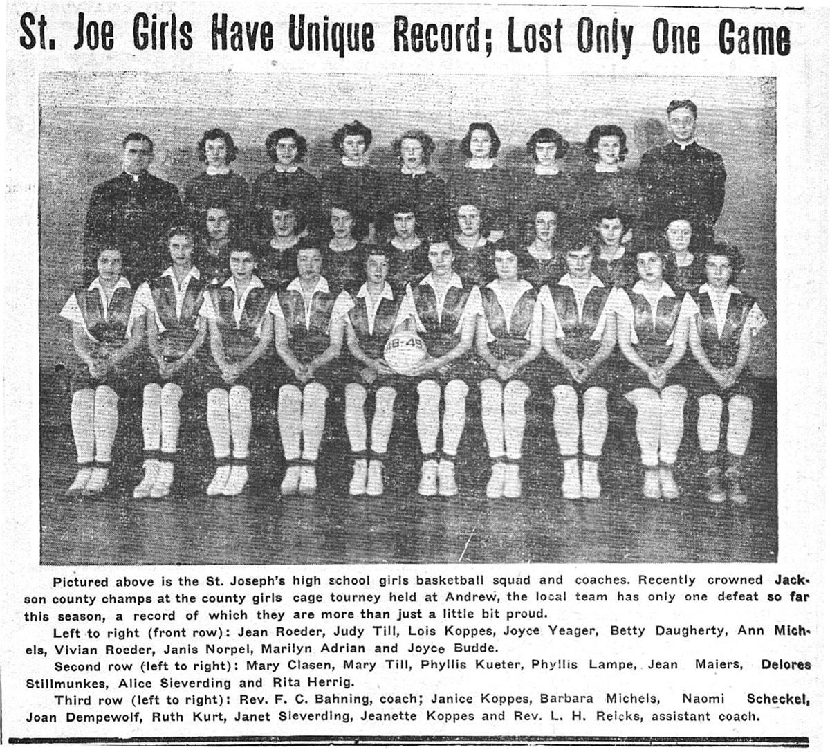 1949 basketball team