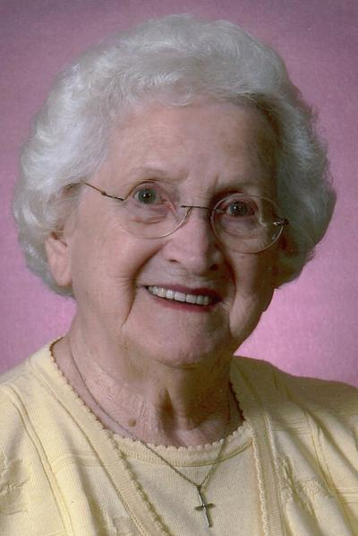 """Lucille """"Lolly"""" Yeager, 100"""
