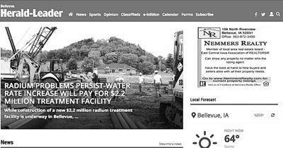 Bellevue Herald-Leader Website