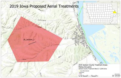 Aerial Treatments Map