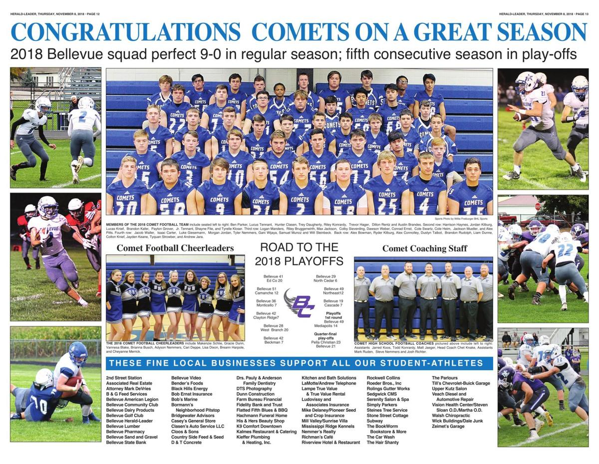 Congratulations Comets On A Great Season