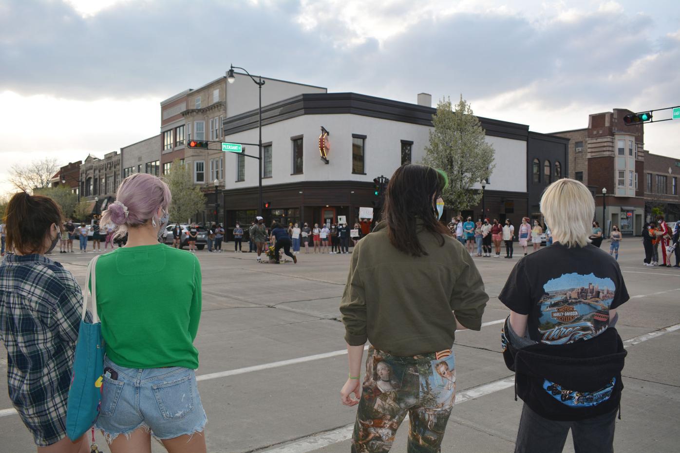 Beloit College protest 2