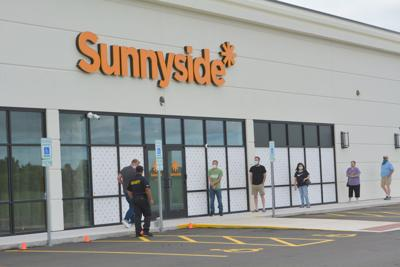 Customers line up at Sunnyside
