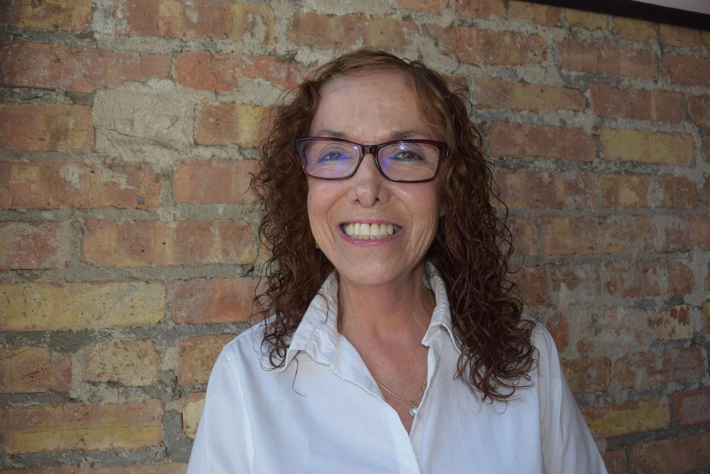 Maria Elena White mug October.JPG