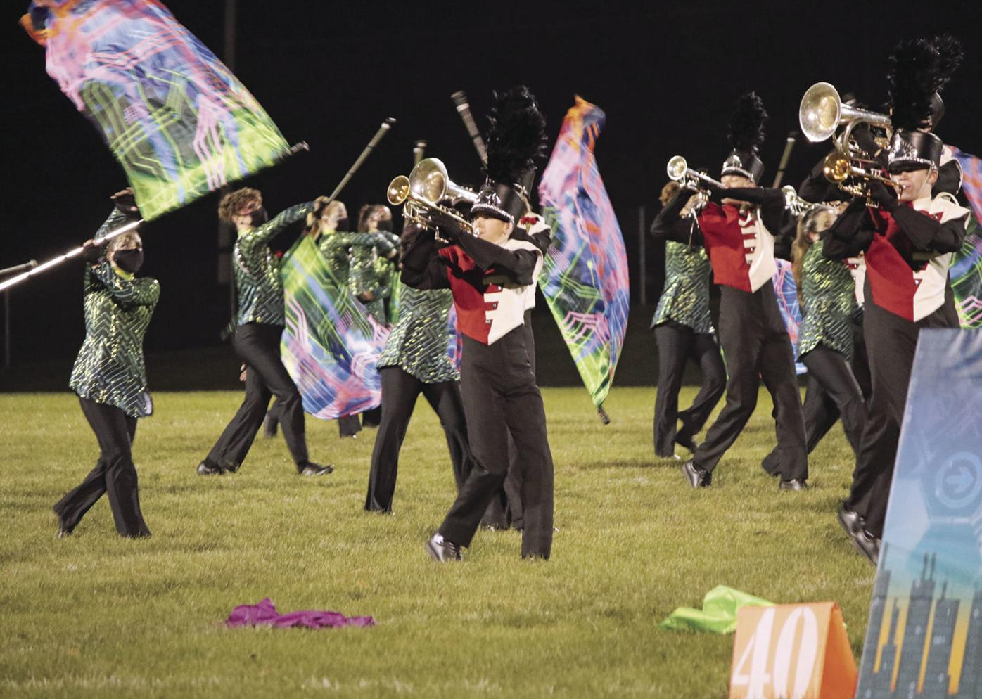 Red Hawk Marching Band 2020