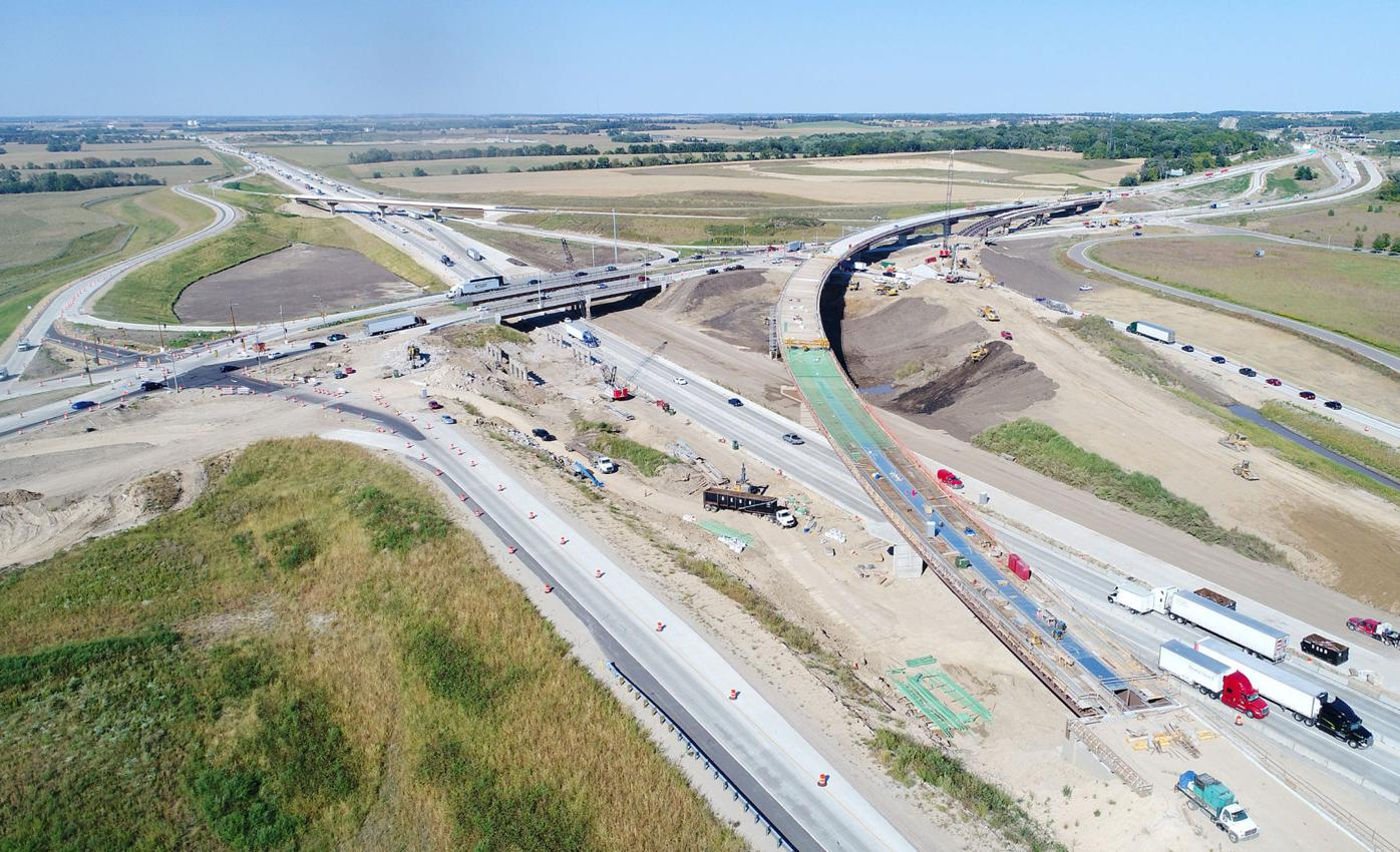 Interstate work nears end