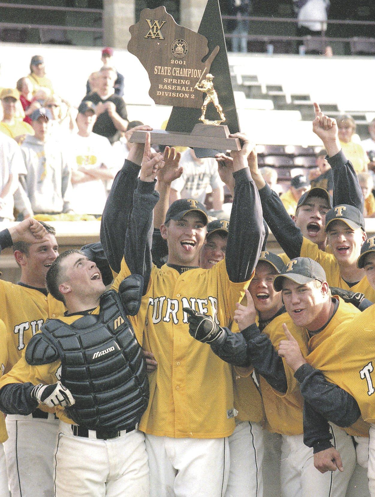 Turner 2001 baseball